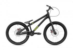 "Bike 22"" Inspired Flow Kids - schwarz matt"