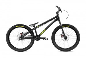 "Bike 24"" Inspired Flow Plus - schwarz matt"