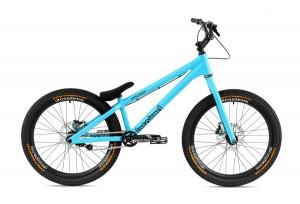 "Bike 24"" Inspired Fourplay Team - cyanblau matt"