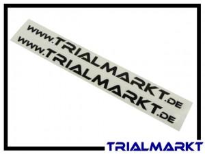 Aufkleber www.Trialmarkt.de - Paar schwarz