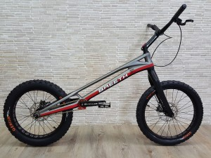 "Trial Bike 20"" Breeth Carbon - grau"