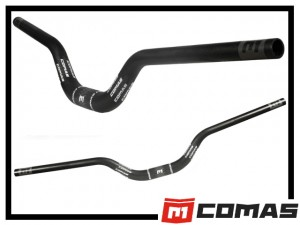 Lenker Comas High Riser Carbon 105mm / 72cm