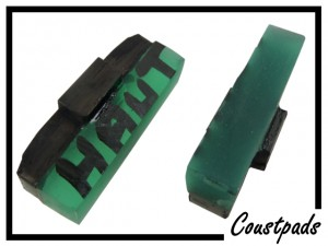 Bremsbeläge Coust-pads 10mm