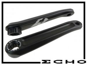 Kurbelpaar Echo TR - splined 160mm