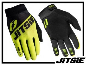 Handschuhe Jitsie Solid - gelb - XL