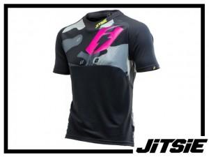 Jersey Jitsie B3 Squad kurzarm - 2017 - yellow/violet