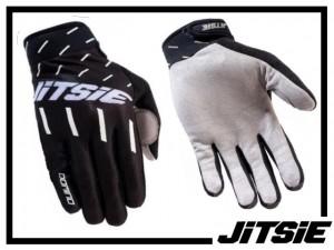 Handschuhe Jitsie Domino - schwarz L