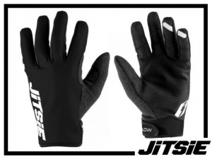 Handschuhe Jitsie Glow - schwarz L