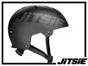 Helm Jitsie Solid - schwarz/grau