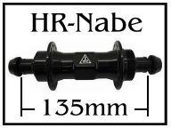 HR-Naben 135mm