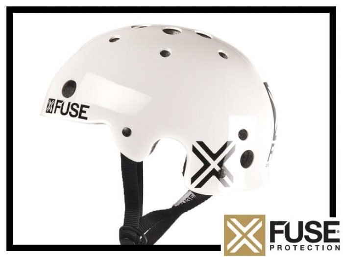 Helm Fuse Icon - weiß S (55-56cm)