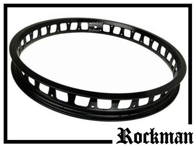 "HR-Felge 19"" Rockman 47mm (32 Loch) schwarz"