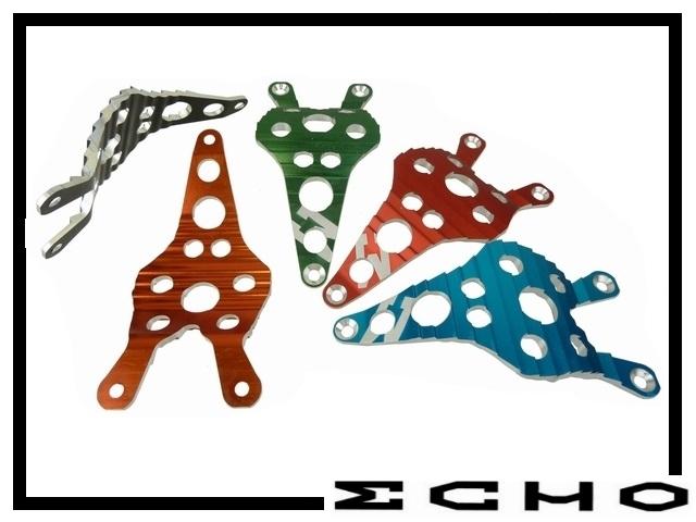 Unterschutzplatte Echo SL Mini silber