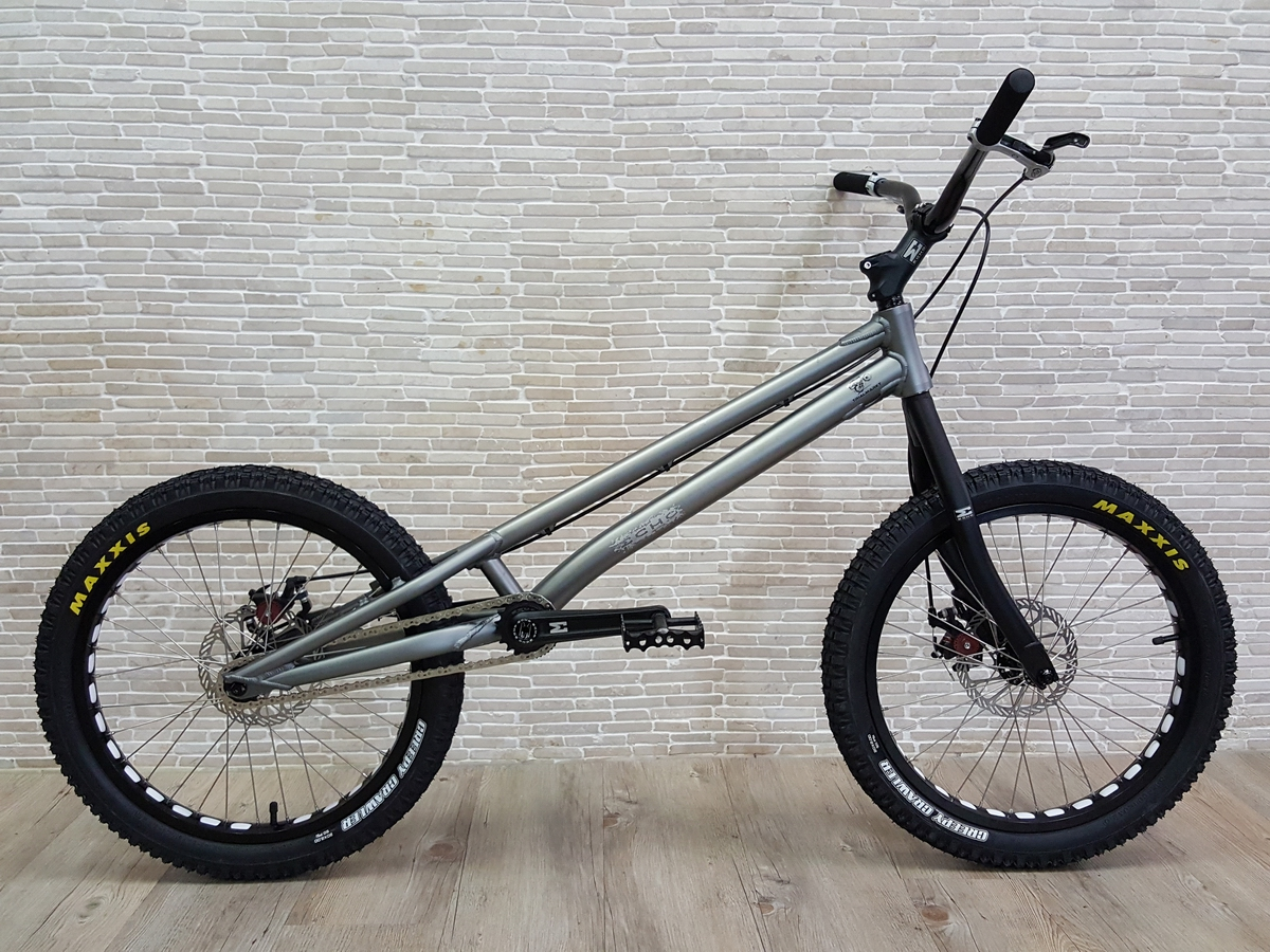 "Trial Bike 20"" Echo Kid Disc - grau"