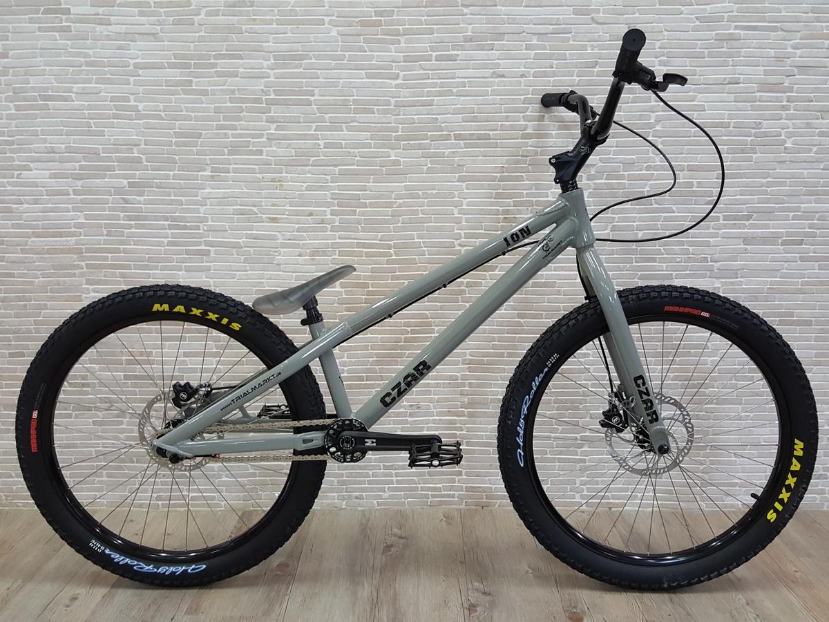 "Bike 24"" Czar Ion - grau glanz Avid BB5 disc - mechanisch"