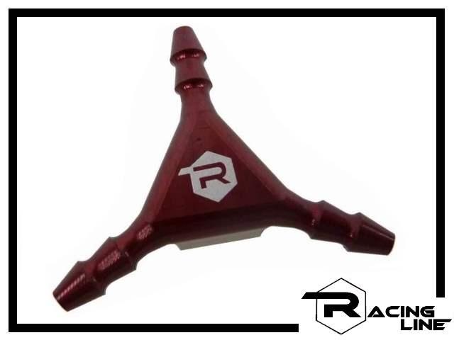 Racing Line Y-Verteiler - rot