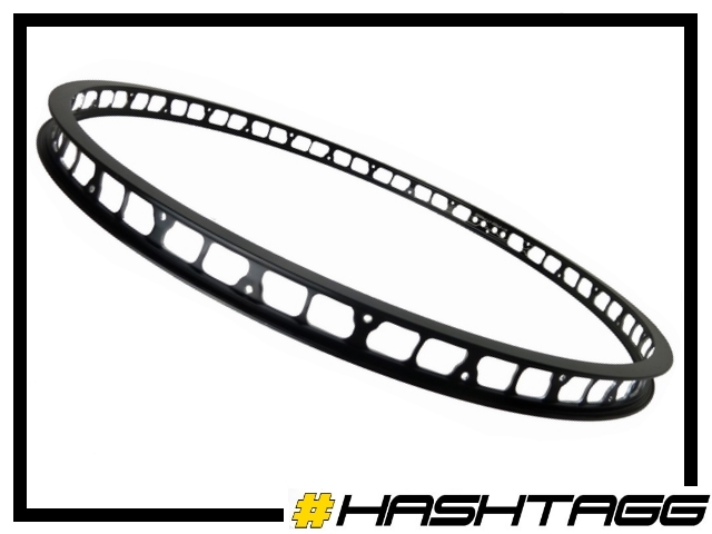 "VR-Felge 26"" Hashtagg 32mm (28 Loch) - schwarz"
