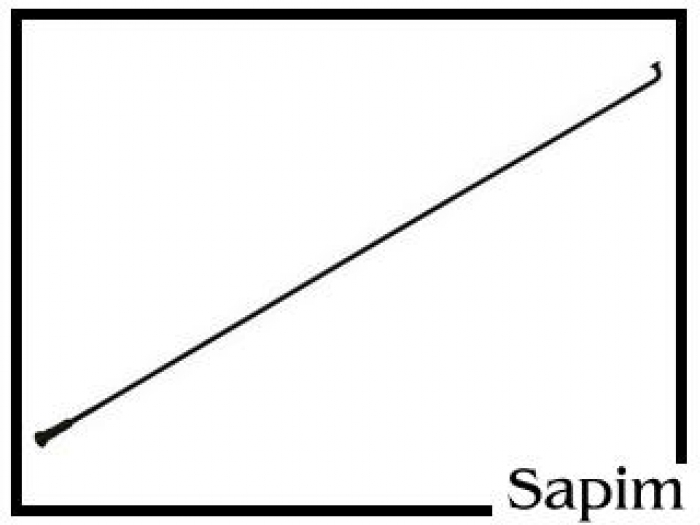 """Speiche Sapim Leader 20"""" schwarz 176mm"""