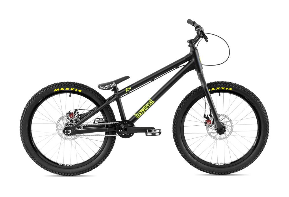 "Bike 24"" Inspired Flow Plus - schwarz matt Avid BB5 disc - mechanisch"