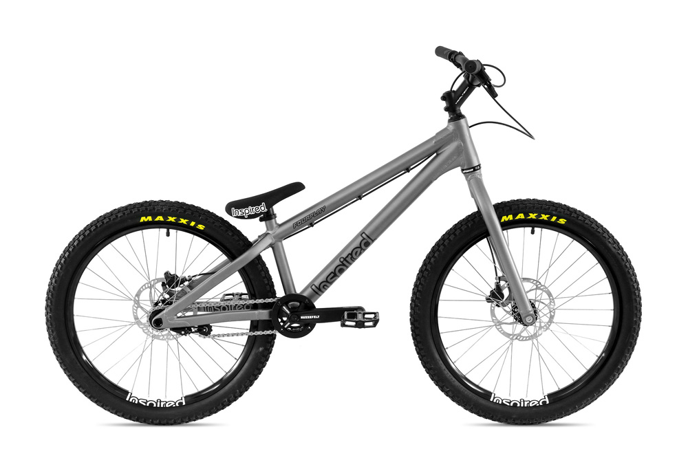 "Bike 24"" Inspired Fourplay Pro - mattgrau Magura MT7 HC3 disc - hydraulisch"