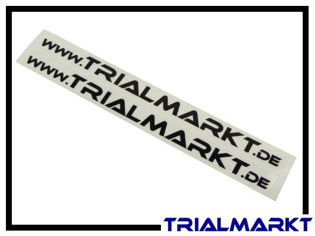 Aufkleber www.Trialmarkt.de - Paar weiß