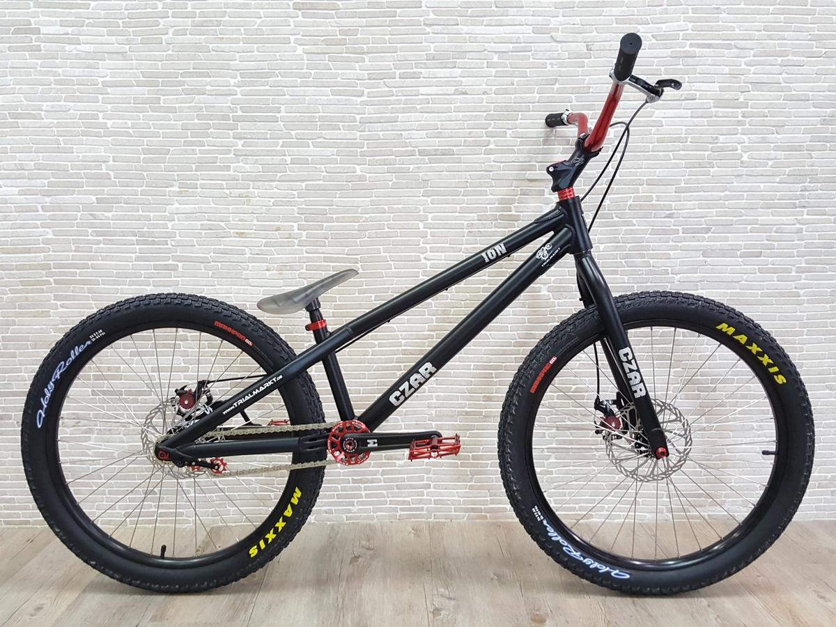 """Bike 24"""" Czar Ion - schwarz Magura MT Trail Sport HC - hydraulisch"""