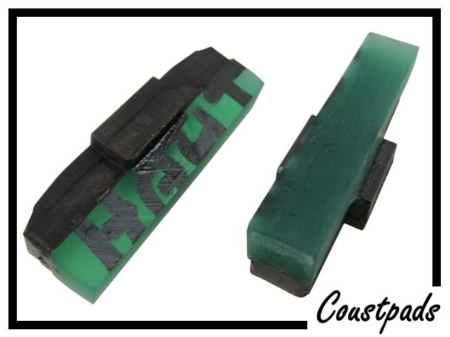 Bremsbeläge Coust-pads 8mm