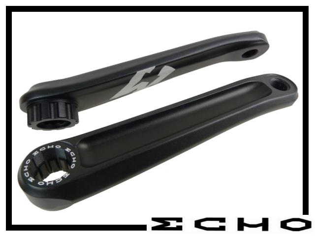 Kurbelpaar Echo TR - splined 170mm