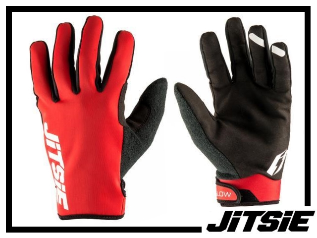 Handschuhe Jitsie Glow - rot L