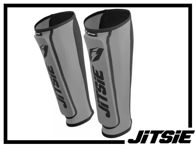 Schienbeinschützer Jitsie Dynamik - silber L/XL