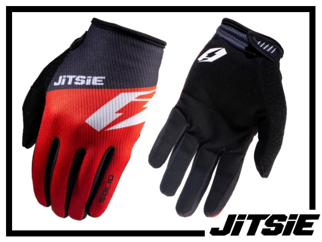 Handschuhe Jitsie G2 Solid - rot M