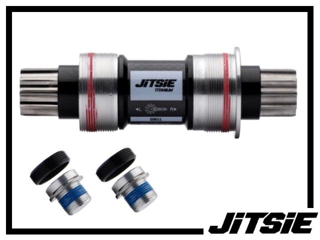 Tretlager Jitsie Race ISIS 123mm - Titan