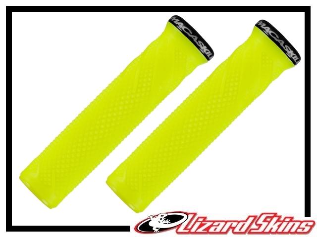 Lenkergriffe Lizard Skins Danny MacAskill Lock-On neon-gelb