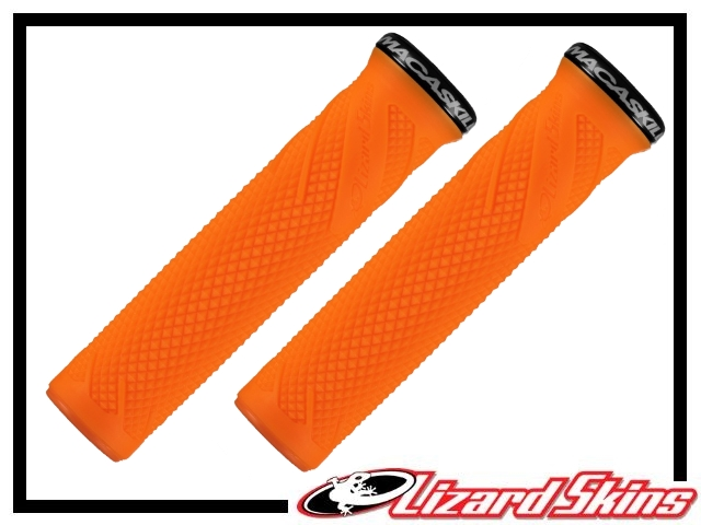 Lenkergriffe Lizard Skins Danny MacAskill Lock-On orange