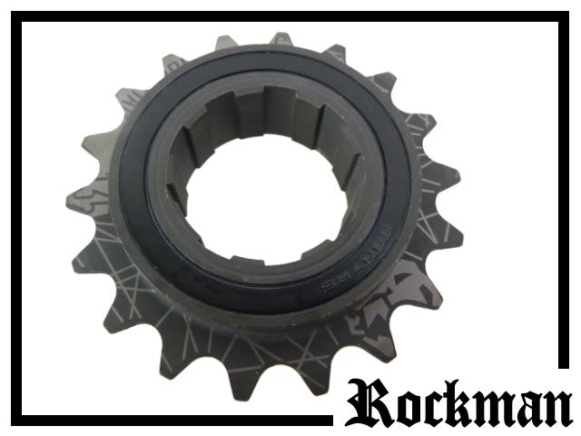 Freilaufritzel Rockman (135 clicks) 18 Z. - splined